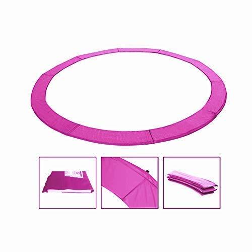 Andreas Dell Randabdeckung Federabdeckung Randschutz Schutz für Trampolin von 250 bis 460 cm (Pink, 430)