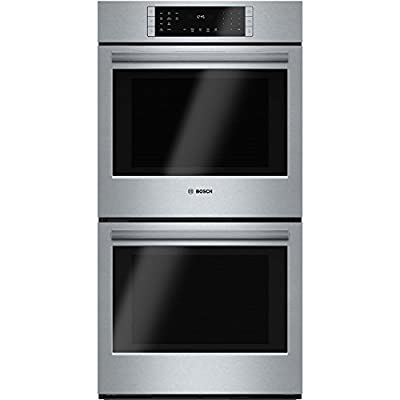 "Bosch HBN8651UC 800 27"" Stainless Steel Electric Double Wall Oven - Convection"