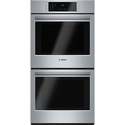 Bosch HBN8651UC 800 27″ Stainless Steel Electric Double Wall Oven – Convection