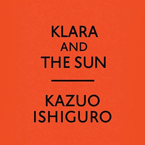 Klara and the Sun audiobook cover art