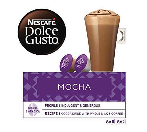 NESCAFÉ Dolce Gusto Mocha   Cápsulas Sabor a Chocolate - 16 cápsulas de café