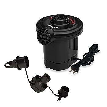 Intex Quick-Fill AC Electric Air Pump 110-120 Volt Max Air Flow 21.2CFM