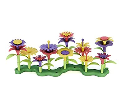Green Toys Build-a-Bouquet Stacking Set, Assorted by Green Toys
