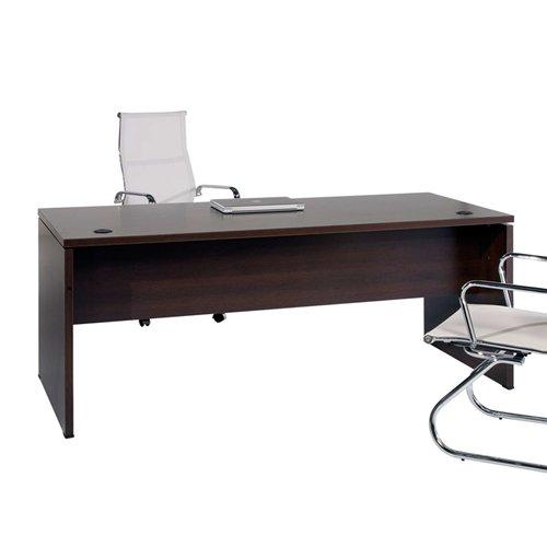 Mesa de Oficina. Euro 2000. Color Wengué. 160x80 cm