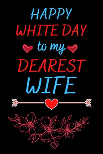 Happy white day to my dearest Wife: Notebook for white day . Best gift idea . Japanese notebook for writing . Happy S.t Valentine's Day