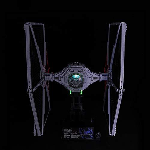 Nlne Kit De Iluminación Led para Lego Star Wars Tie Fighter, Compatible con Ladrillos De Construcción Lego Modelo 75095(NO Incluido En El Modelo)