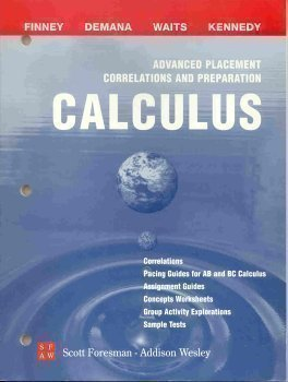 Advanced Placement Correlations And Preparation: Calculus 0201324482 Book Cover