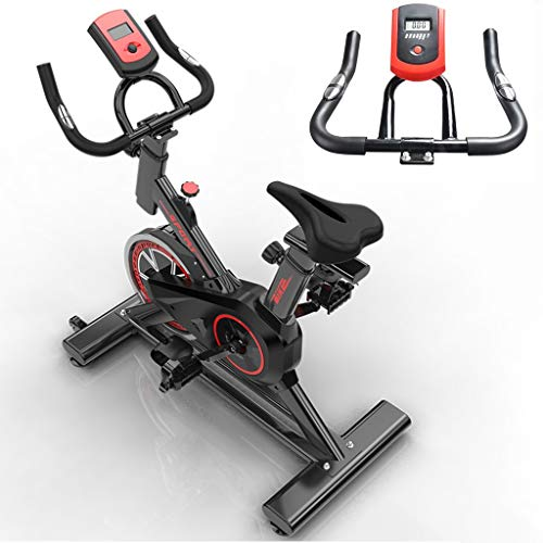 Indoorcycling Bikes Pedaltrainer Fitnessfahrrad Hometrainer Lautloses Heimtrainer Nach Hause Indoor-Trainingsgerät Für Fahrradübungen Gewichtsverlust Artefakt ( Color : Black , Size : 105*50*92cm )