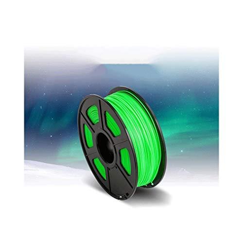 Hola Filamento PLA de alto rendimiento 3.0mm luminoso filamento de impresión 3D (multi-color opcional) 1 kg Utilizado para impresora 3D y bolígrafo de impresión 3d