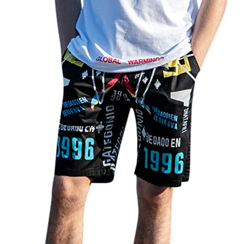 Best Review Of Nacome Sport Swim Trunks Shorts for Men Spring Summer Print Trunks Quick Dry Beach Su...