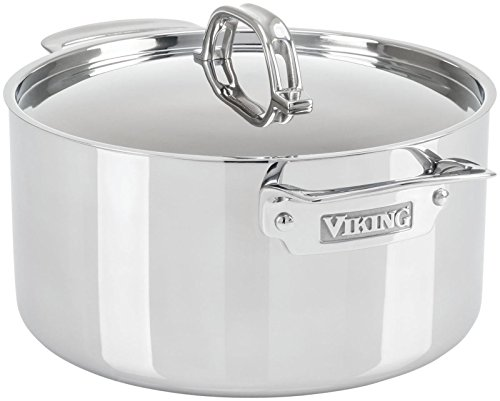 Viking 3-Ply Stainless Steel Stock Pot, 6 Quart