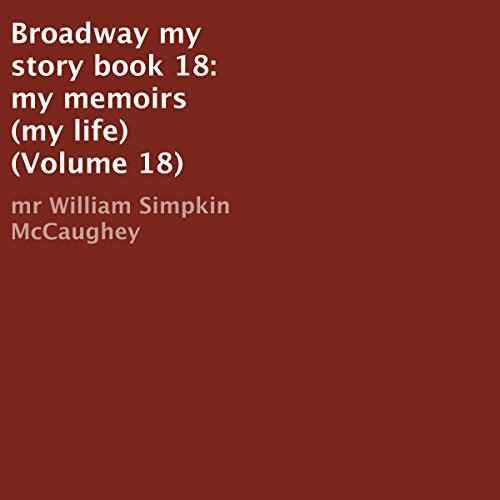 Broadway: My Story audiobook cover art