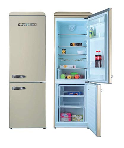 Jocel JC-300LC Frigorifico Combi 300L A++ Beige nevera y congelador, frigo 216L, congelador 84L