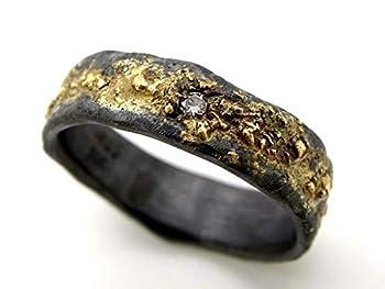 mens wedding ring celtic diamond engagement ring gold silver viking wedding band diamond rustic mens ring diamond mens silver ring