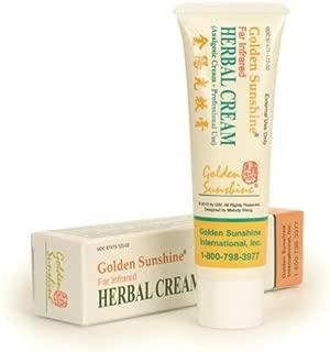 Golden Sunshine - Pain Relief Herbal Cream - 1.77 oz (50 gm) - 1 Pack