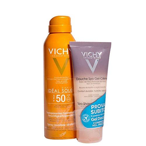 Vichy Ideal Soleil Spray Spf50 mit Duschgel - 1 Stück