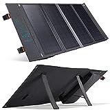 Cargador Solar, 36W Cargador de Energía Plegable de Panel Portátil de con 2 Puertos de Salida USB Type-C PD3.0 y USB QC3.0, Compatible con Teléfonos Inteligentes, Banco De Energía Portátil, Tabletas