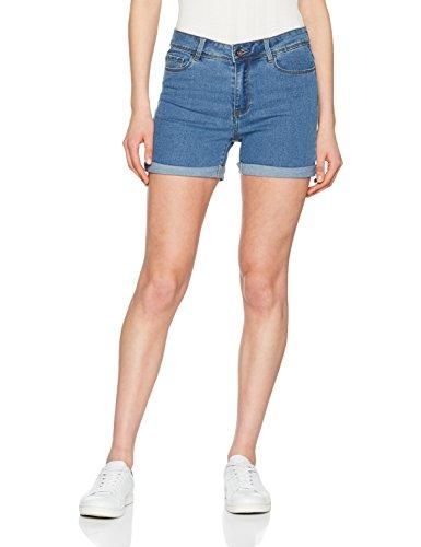 Vero Moda NOS Vmhot Seven NW Dnm Fold Shorts Mix Noos Pantalones Cortos para...