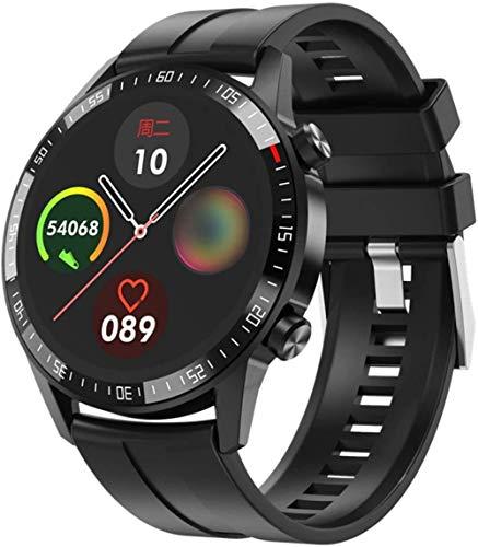 Multifunción Reloj Inteligente De Los Hombres Pantalla Grande A Prueba De Polvo Música Alarma Smartwatch Gran Capacidad-C