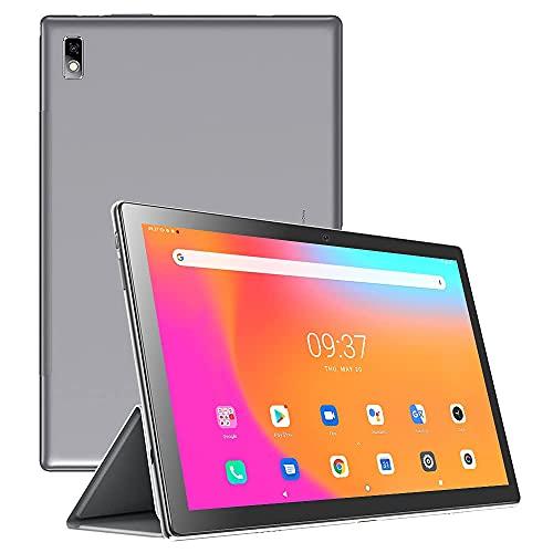 Tablet 10.1 Zoll Android 10.0 Tablets-PC, Blackview Tab 9 Tablet mit 4GB RAM 64GB ROM, Octa Core 4G LTE Dual SIM Große Batterie 7480mAh, 13MP+5MP Kamera WiFi Bluetooth GPS HD Touchscreen Tablet(Grau)