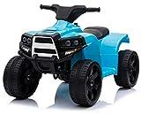 kid go Mini Quad Elettrico per Bambini 6V Blu