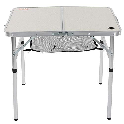 3KG Klappbarer tragbarer Grilltisch,Klappbarer stabiler Grilltisch Strandtisch,Tragbare Tische im Freien,mit höhenverstellbaren Beinen,für den Außenbereich