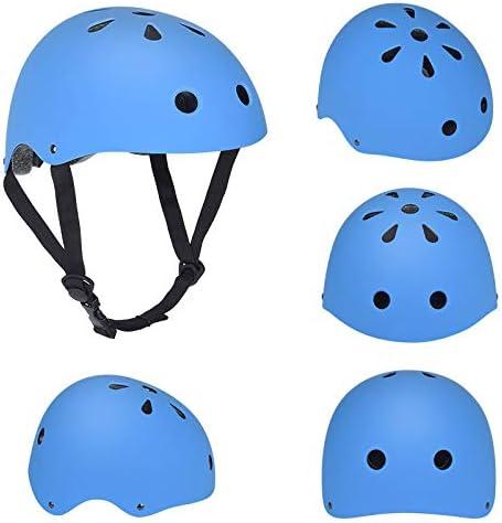 Patinaje para Adultos Bicicleta de Escalada Casco de Ciruela Patinaje Equilibrio Rueda de Patinaje Casco para niños