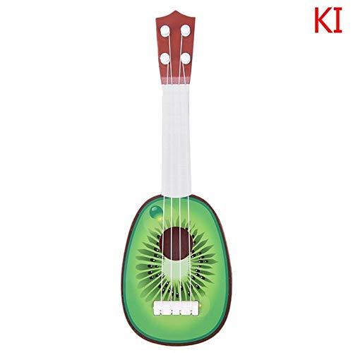 BOOSSONGKANG violín Venta caliente Super Cute Niños 4 Cuerdas Estilo Fruta Guitarra Ukulele Instrumento Musical Niños Regalo de Navidad