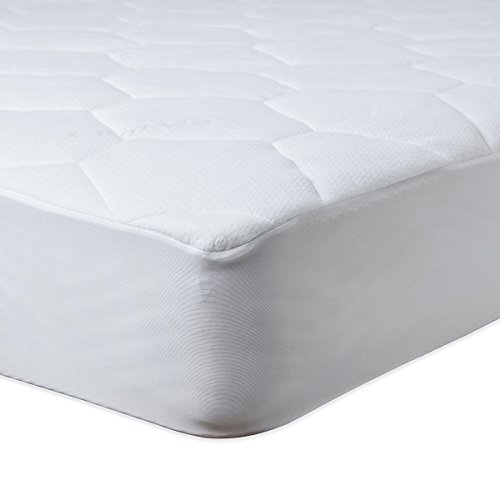 SOAK AND SLEEP Waterproof Quilted Mattress Protector with Coolmax - Small Double