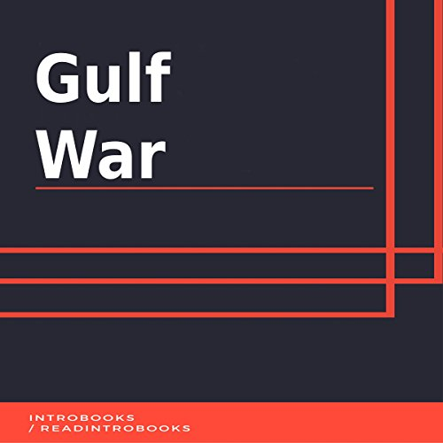 Gulf War audiobook cover art