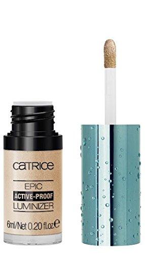 Catrice Cosmetic Active Warrior Epic Active de Proof Luminizer N ° C01 – Work It Out. contenu : 6 ml Crème de Highlighter
