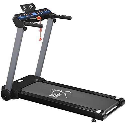 ArtSport Laufband Speedrunner 2500 elektrisch & klappbar 12 km/h | 12 Programme | LCD Display | bis 100 kg belastbar | Heimtrainer Fitnessgerät