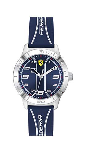 Scuderia Ferrari Reloj Analógico para Niños de Cuarzo con Correa en Silicona 0810026