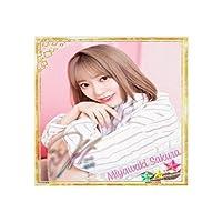 宫脇咲良 帆布艺术绘画日本传统水墨海报艺术印刷照片海报艺术客厅墙体艺术装饰40 * 40