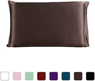 eDealMax 100% pura seda de morera Charmeuse almohada cubierta de la caja de la almohadilla