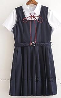 (SUNLIKE) 制服 ジャンパースカート ジャンスカ 半袖 Mサイズ no.8