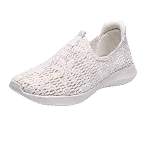 Inawayls Damen Outdoor Wanderschuhe Fashion Runing Sneakers Atmungsaktiver Mesh Sportschuh Halbschuhe Luftkissenschuhe Traillaufschuhe