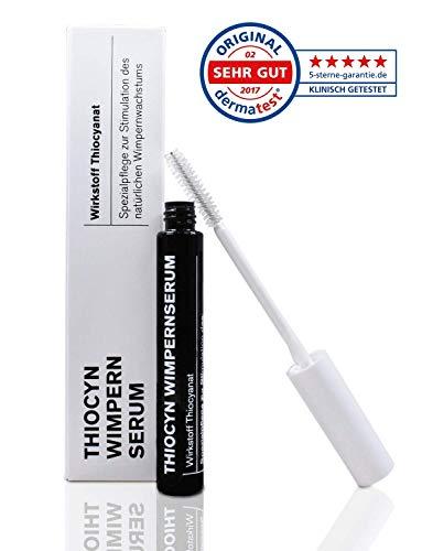 Thiocyn Wimpernserum & Augenbrauenserum – 8ml- ohne Hormone - Spezialpflege zur Stimulation des...