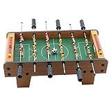 LLZH Mini Futbolín, Juego de Fútbol de Mesa de 6 Filas, Los 50x25x15.5cm, Mesa de Juego de Futbolín, para el Hogar, Sala de Juegos, Bar