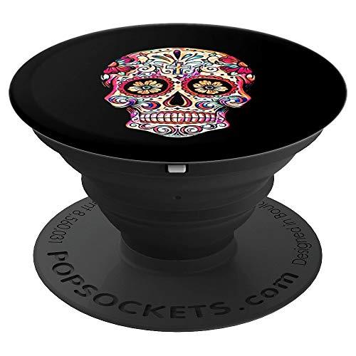 Sugar Skull Shirt Cool Calavera Dia De Muertos Day Dead Gift PopSockets Agarre y Soporte para Teléfonos y Tabletas