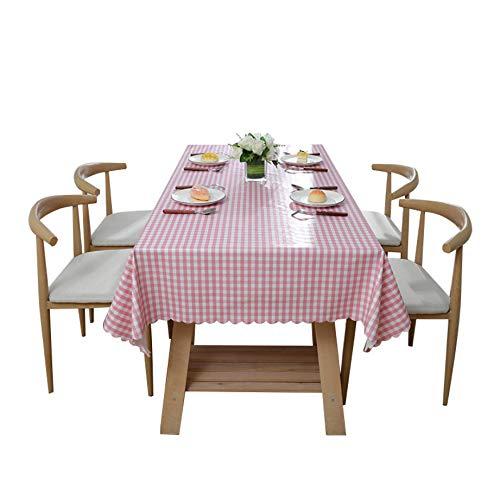 Teenelle Mantel Impermeable para el hogar, Mantel de PVC, Mantel Rectangular, tapete antiescarcha, 140 * 220 cm