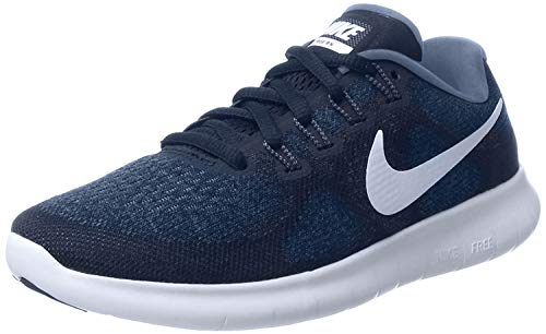 Nike Damen Nike Free RN 2017 Binary Blue Dark Sky Blue Obsidian #39;s Running Shoes binary blau dunkel sky blau obsidian 10.5 uk