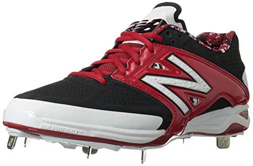Zapato beisbol metalico L4040 hombre, negro