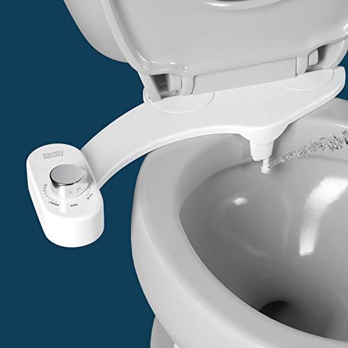 Squatty Potty Dual-Stream Bidet - Fresh Water Non Electric Toilet Attachment with Adjustable Pressure