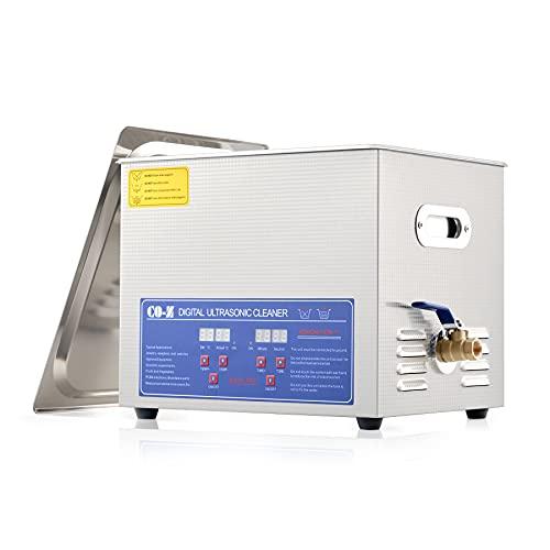 CO-Z Professional 10L Ultrasonic Cleaner