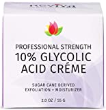 Best Glycolic Acid Creams - REVIVA LABS - 10% Glycolic Acid Créme Review