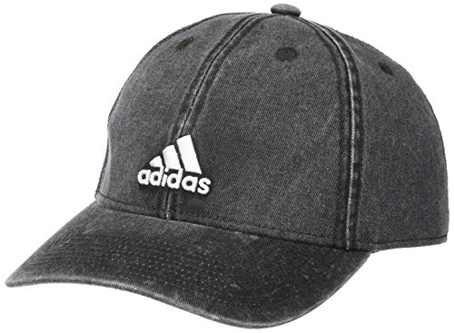 Gorra ajustable Adidas Saturday Plus Ii Relaxed - 5149918, Sábado Plus II Relaxed Gorra ajustable, Talla única, Mezclilla negra/blanco.