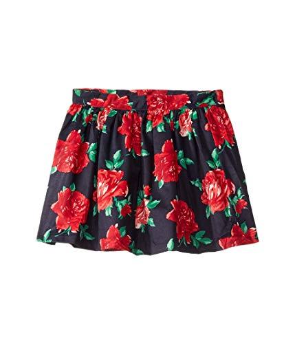 Janie and Jack Girl's Floral Print Skirt (Little Kids/Big Kids) Navy 12 (Big Kids)