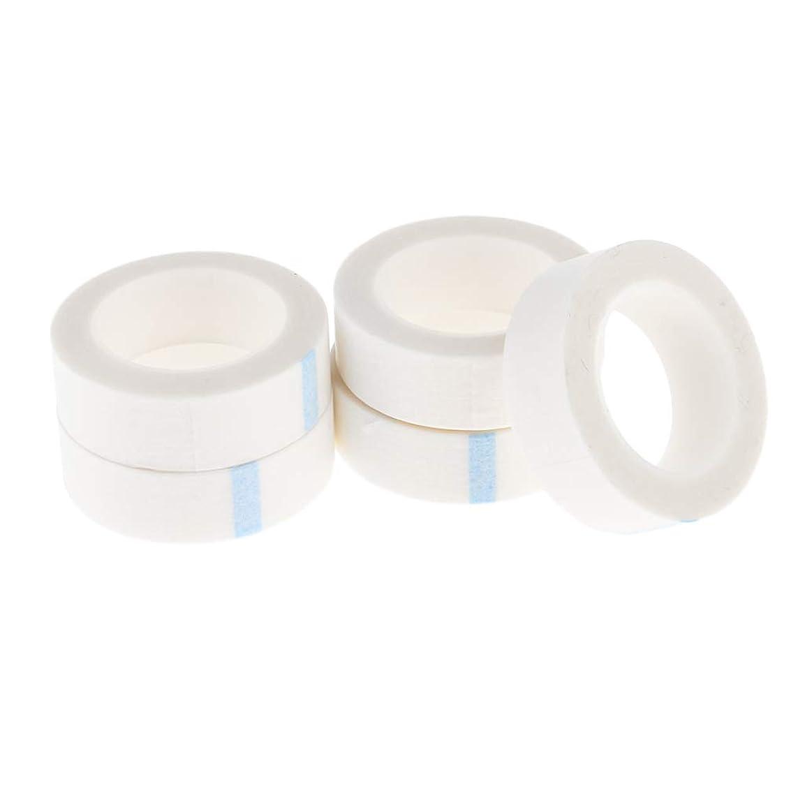 アパル冷蔵庫中5ロール つけまつげテープ 不織布 まつげエクステンション 粘着テープ