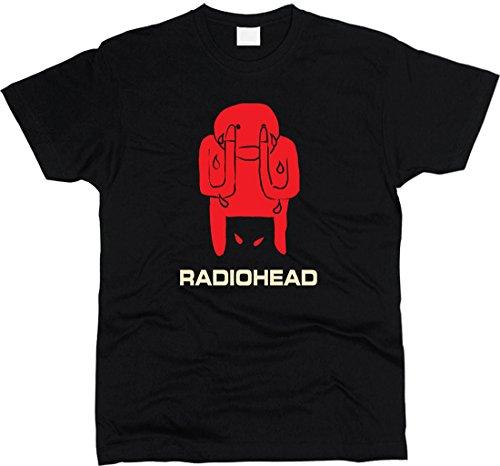 Radiohead Amnesiac T-shirt Men Regular Fit (XXL)